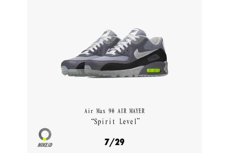 John Mayer  NikeID  カスタマイズ スニーカー 個人販売