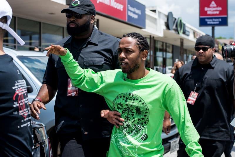 ケンドリック・ラマー の DAMN. ポップアップストア レポート Kendrick Lamar Black Market USA