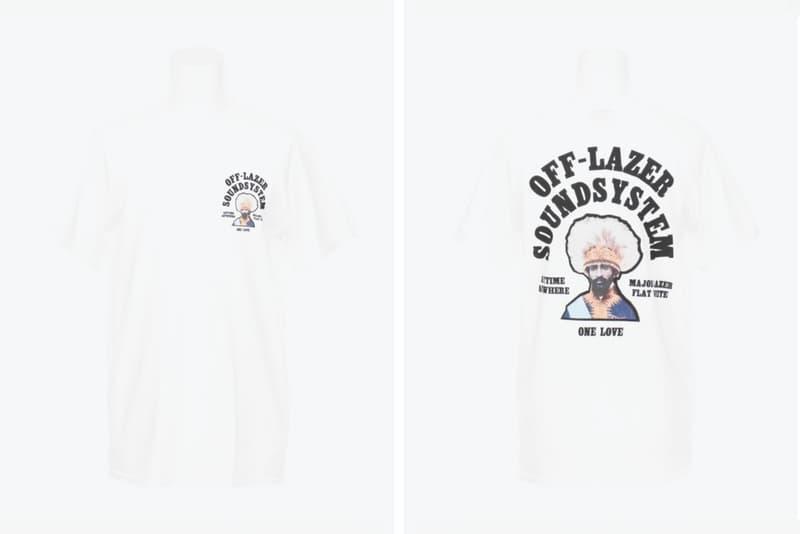 Off-White™  Major Lazer 限定 コラボ Tシャツ OFF LAZER SOUNDSYSTEM