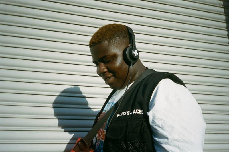 Places+Faces x AIAIAI のコラボヘッドフォンが本日ロンドンにて発売 headphones black