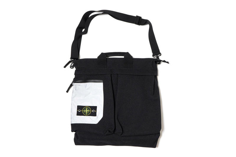 Stone Island から多機能スリーウェイ Nylon Panama Helmet Bag が登場 3way backpack handcarry
