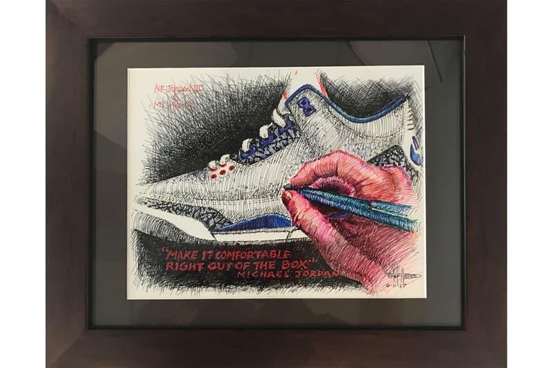 14歳の少年をきっかけにティンカー・ハットフィールドが描いた Air Jordan 3 のアートワーク