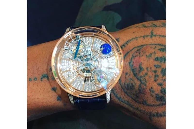 Travis Scott が日本円換算で1億円超えの腕時計をお披露目 トラヴィス・スコット トラビス スコット トラヴィス