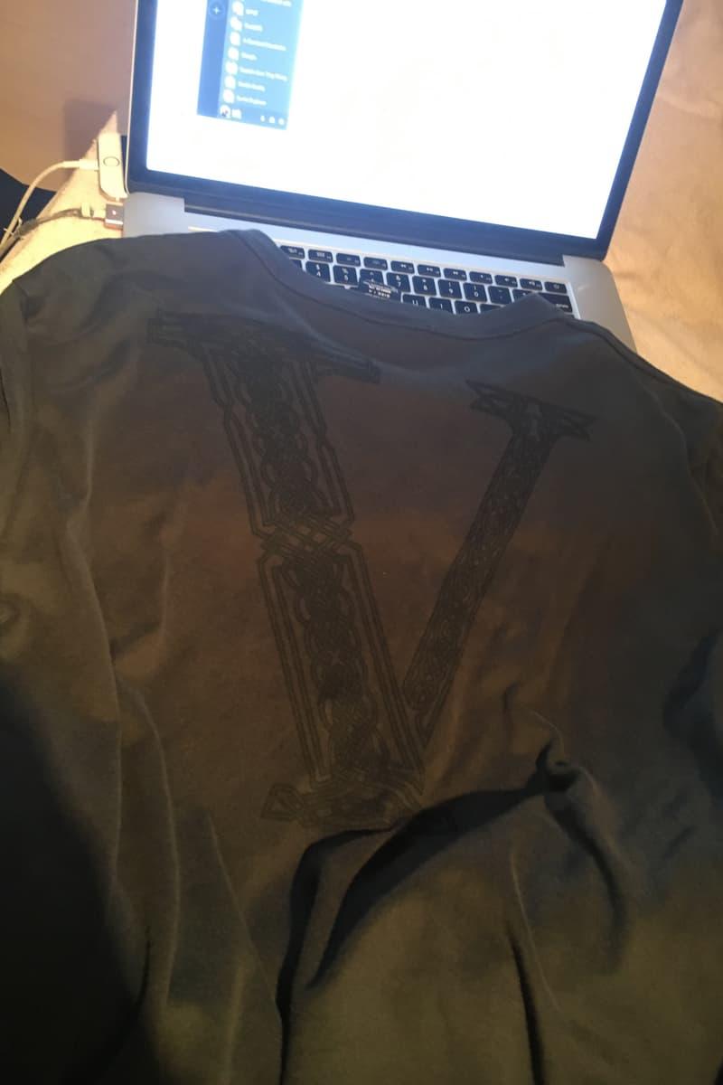 """VLONE の象徴""""Vロゴ""""のデザインソースは Number (N)ine?A$AP Bari がカルト的な人気を誇るドメスティックブランドをサンプリングしたという噂が急浮上 ヴィーローン ブラック オレンジ ナンバーナイン"""