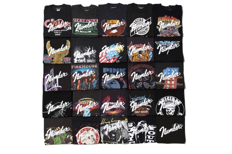 nano・universe が別注した NUMBER (N)INE の唯一無二のリメイクヴィンテージT vintage t-shirts Tシャツ 明日発売