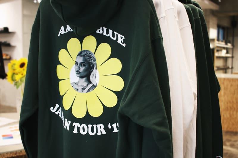 """カニエも惚れ込む""""it girl""""のアミナ・ブルー x 335mm ポップアップイベント @ NUBIAN 上野店に潜入 amina blue ヌビアン"""