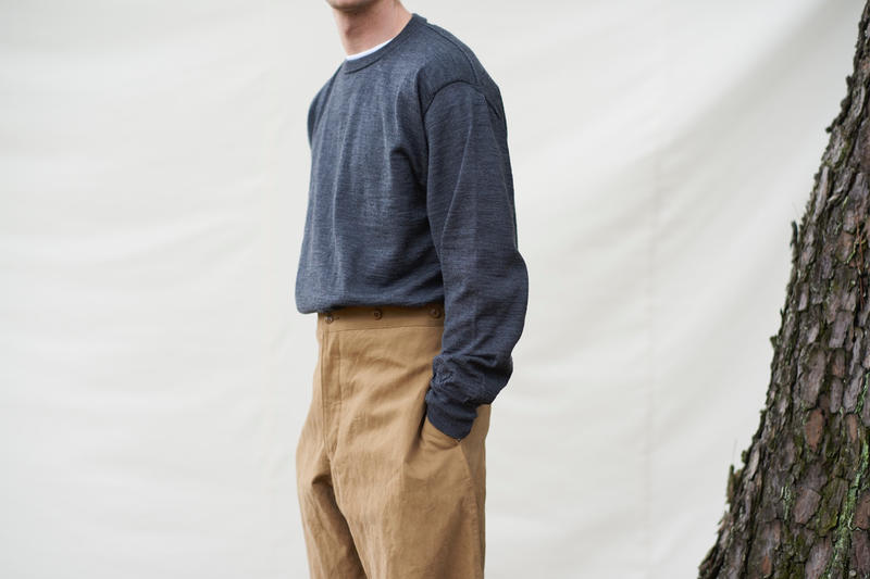 上質でシンプルな日常着 COMOLI 2017年秋冬コレクション