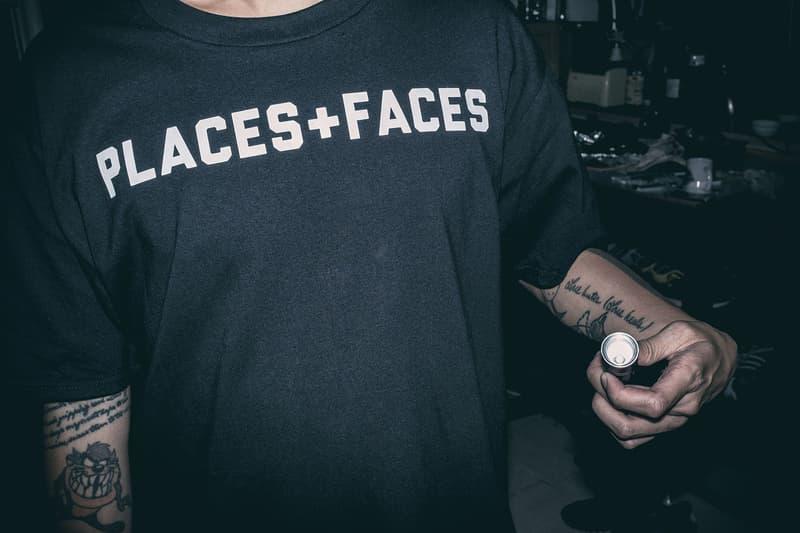 Places+Faces x HBX のコラボカプセルコレクションが登場