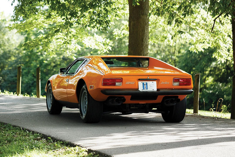 1974年 デ・トマソ・パンテーラ特注モデル最後の1台 オークション FORD,SOTHEBY'S,RM SOTHEBY'S,DE TOMASO PANTERA,DE TOMASO,GHIA