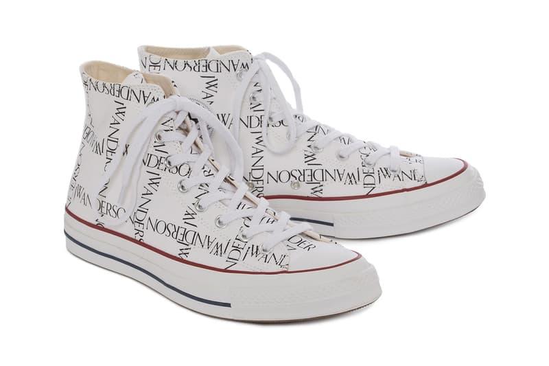 J.W.Anderson x Converse  2018年春夏 フットウェア コレクション スニーカー