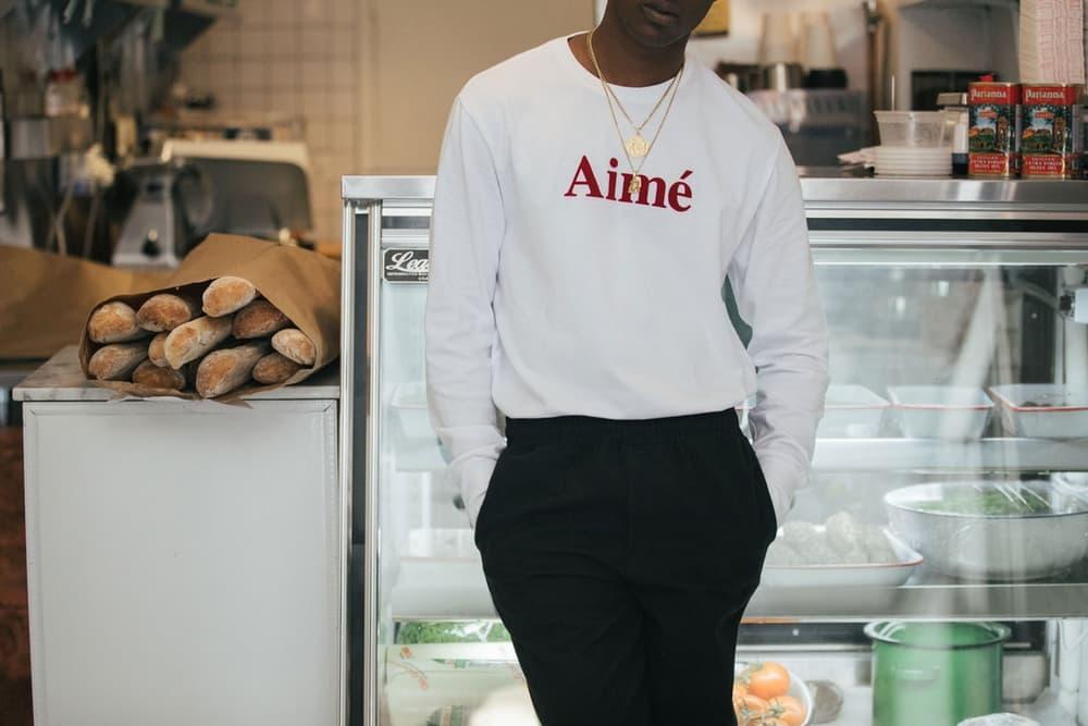 エメ レオン ドレ 90年代 ニューヨーク Aimé Leon Dore 2017年秋冬 キャンペーン ビジュアル