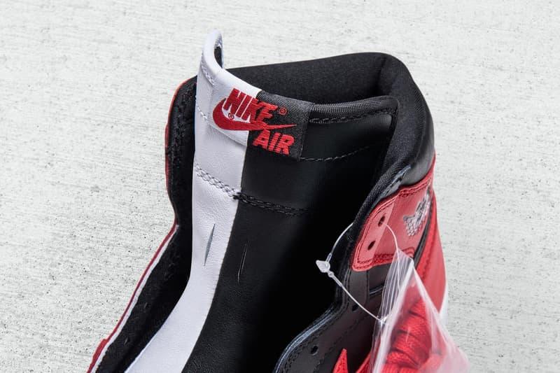 """Nike が """"Banned"""" と """"Chicago"""" モデルを組み合わせた Air Jordan 1 サンプルモデルのビジュアルを公開"""