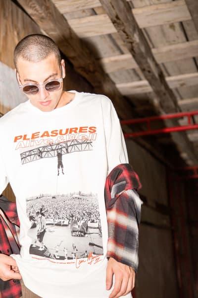 シアトルの90年代グランジシーンに影響を受けた Alive & Well x PLEASURES のカプセルコレクション seattle grunge scene punk '90s 1990s capsule collection