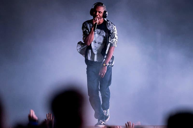 Frank Ocean のスウェーデン Way Out West Festival でのパフォーマンスをチェック フランク・オーシャン