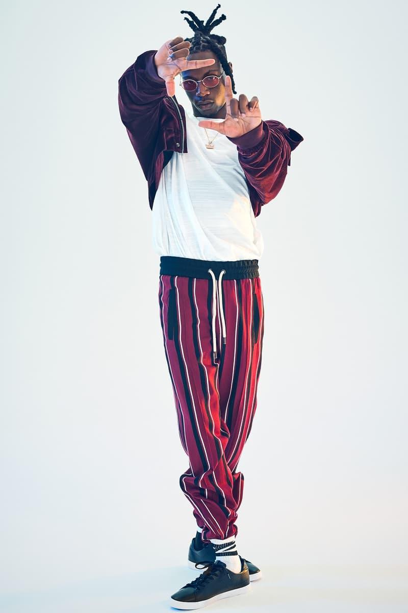 Joey Bada$$ がニューヨークの街を讃える PONY の最新コレクションのモデルに