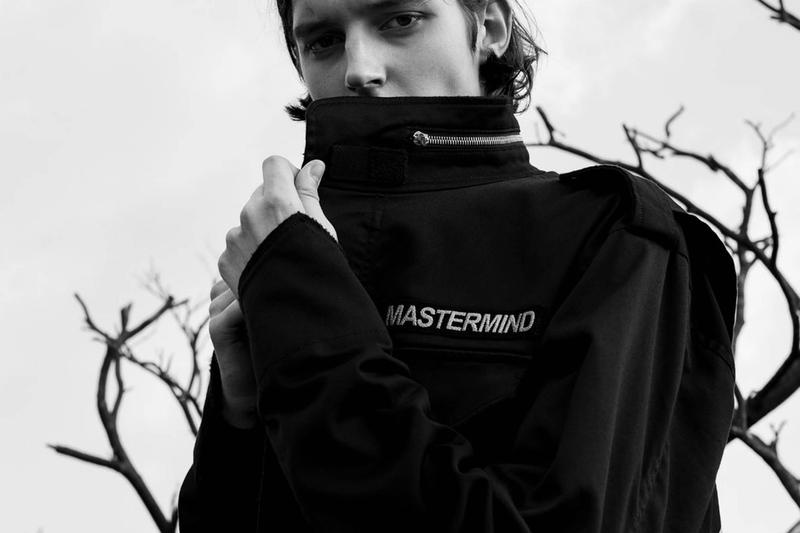mastermind WORLD のダークな世界観を色濃く表現した2017年秋冬エディトリアル 細部にまでこだわり抜いた本間正章のクリエイションの真髄に迫る スカル スウェット アウター ライダース Tシャツ パーカ