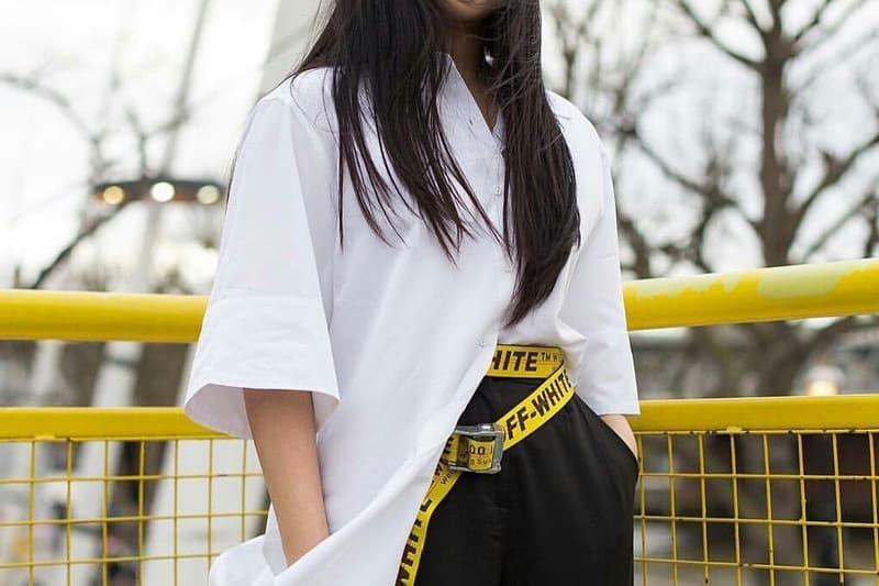 Off-White™ が 流行りのインダストリアルベルトの着用方法をビデオで紹介 オフホワイト インダストリアルベルト
