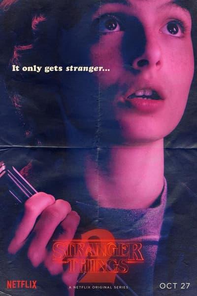 Netflix オリジナルドラマ ストレンジャー・シングス 未知の世界 シーズン2 最新ポスター プロモビデオ