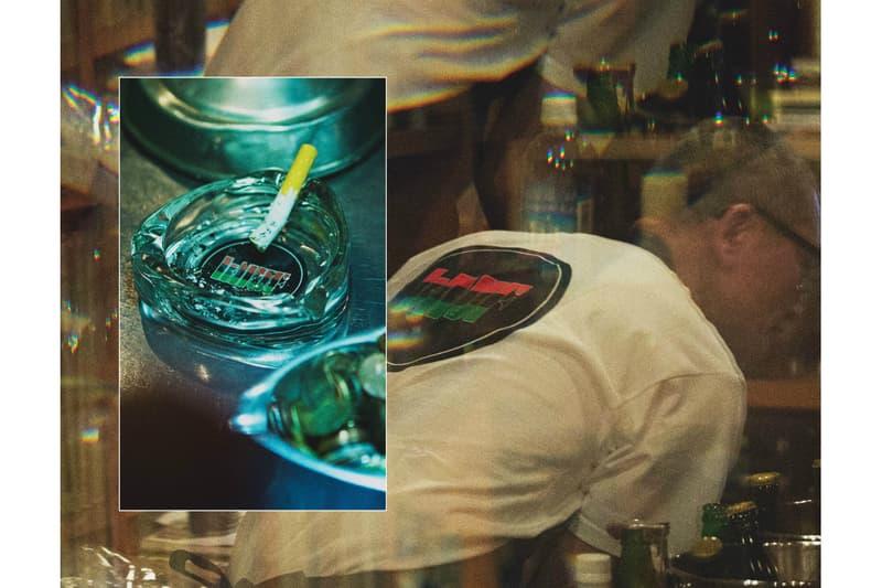 """渋谷 レコードバー JBS  マスター  HUF  カプセルコレクション """"KHUF"""" Tシャツ キャップ エプロン 灰皿 トートバッグ"""