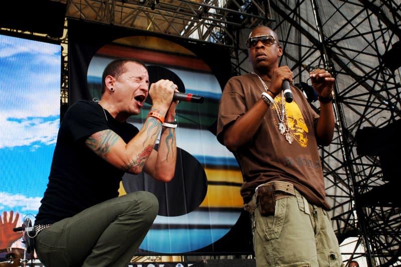 """JAY-Z  Linkin Park チェスター・ベニントン 敬意を表して """"Numb/Encore"""" 披露"""