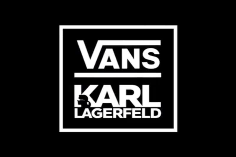 CHANEL のデザイナー カール・ラガーフェルドと Vans のコラボレーションが実現か
