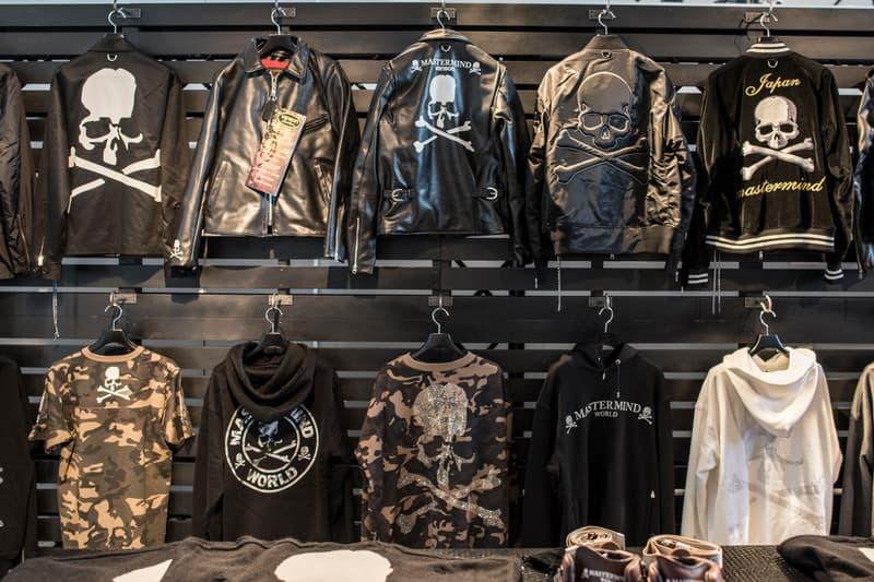mastermind JAPAN & mastermind WORLD 2017年秋冬コレクション ポップアップの店内を初公開 1,500点のストックの中にはスワロフスキーを散りばめた約300万円のカシミヤコートも