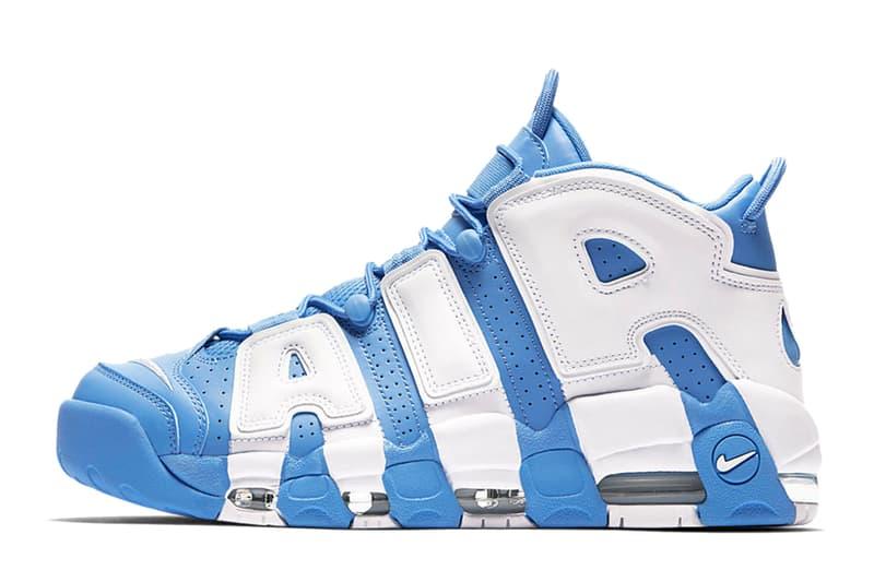 Nike より目を引くブルーカラーの Air More Uptempo ニューモデルが登場 ナイキ
