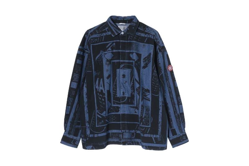 Cav Empt 2017年秋冬コレクションから9月最初のデリバリーがスタート キーピースは全面にグラフィックを施したデニムビッグシャツとシェルタージップジャケット