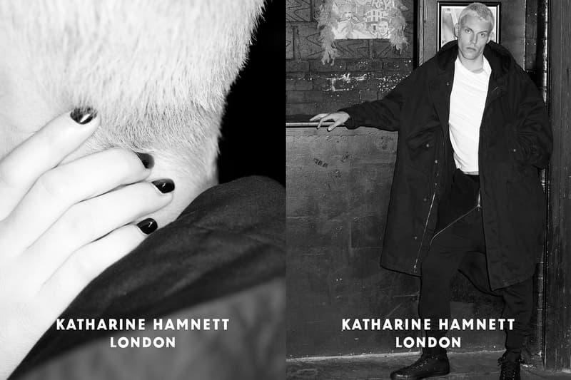 リローンチを遂げた新生 Katharine Hamnett のメンズウェアコレクションを紐解く独占取材を敢行 ファッション業界やデザイナーに多大な影響を与えたアーカイブとの関連性や、カニエとの仕事の中で見えてきた新たな感覚を聞き出す