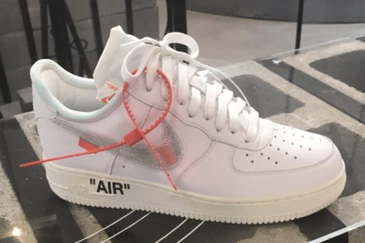 Virgil Abloh and Travis Scott Design Custom Nike Air Force 1 ヴァージル・アブロー と トラヴィス・スコット による Air Force 1 のカスタムデザイン