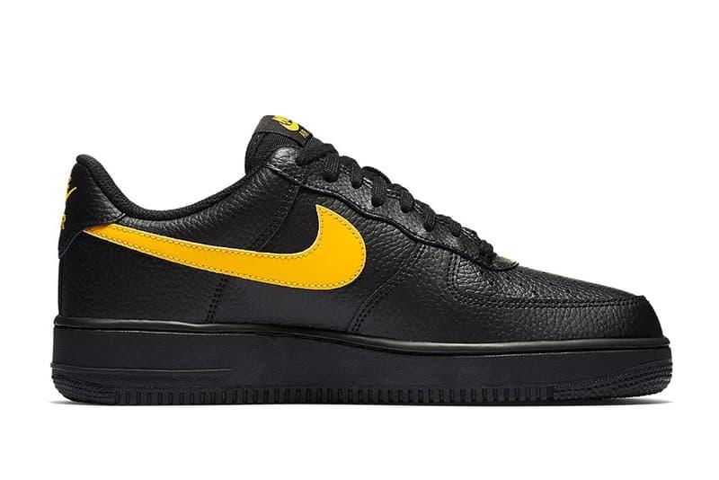 "Nike が Air Force 1 Low ""Black Leather"" パックを発表 上質なタンブルレザーを採用し、アッパー&ソールをブラックで統一した重厚感のあるAF1"