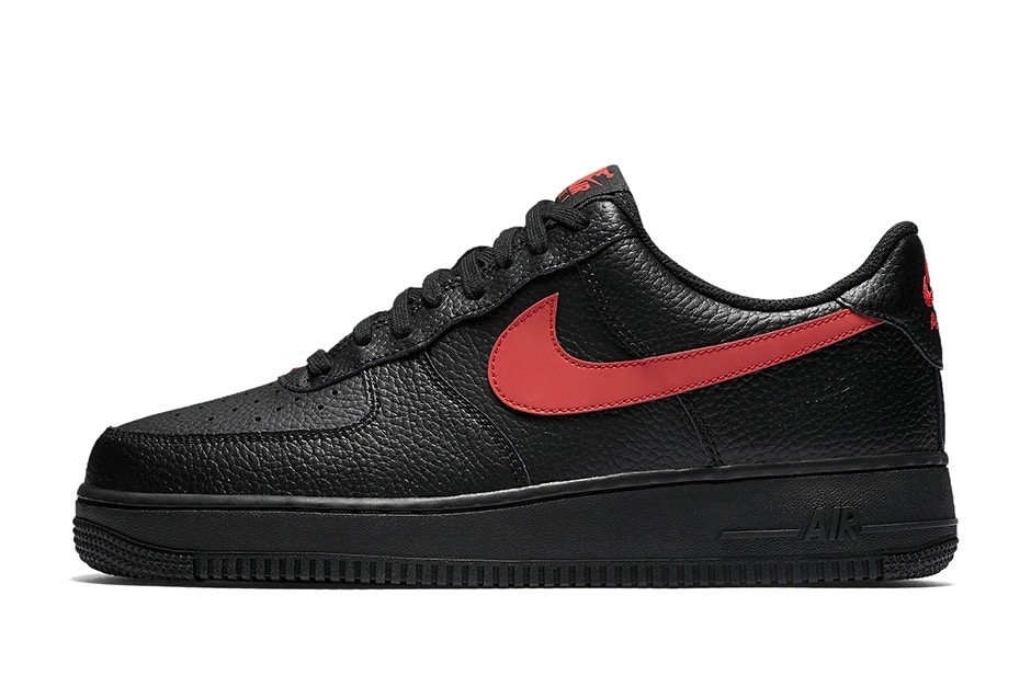 """Nike が Air Force 1 Low """"Black Leather"""
