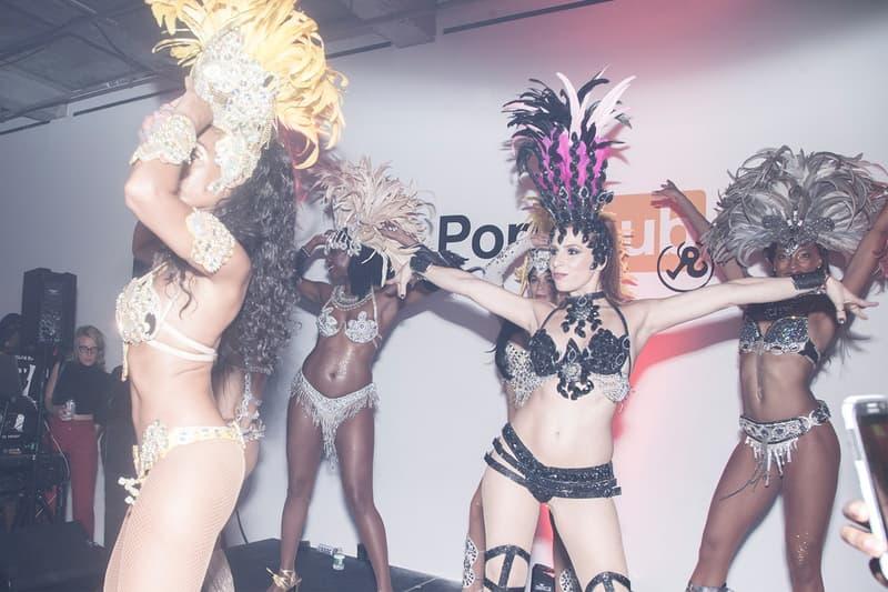 ポルノマガジン Richardson x ポルノ配信サイト Pornhub のコラボを記念したパーティに潜入 リチャードソン ポルノハブ