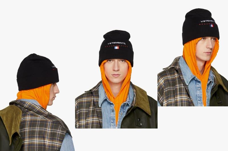 Vetements 2017年秋冬コレクション  2nd デリバリー リリース コート フーディ ジャケット デニム キャップ アクセサリー レインコート ウィンター