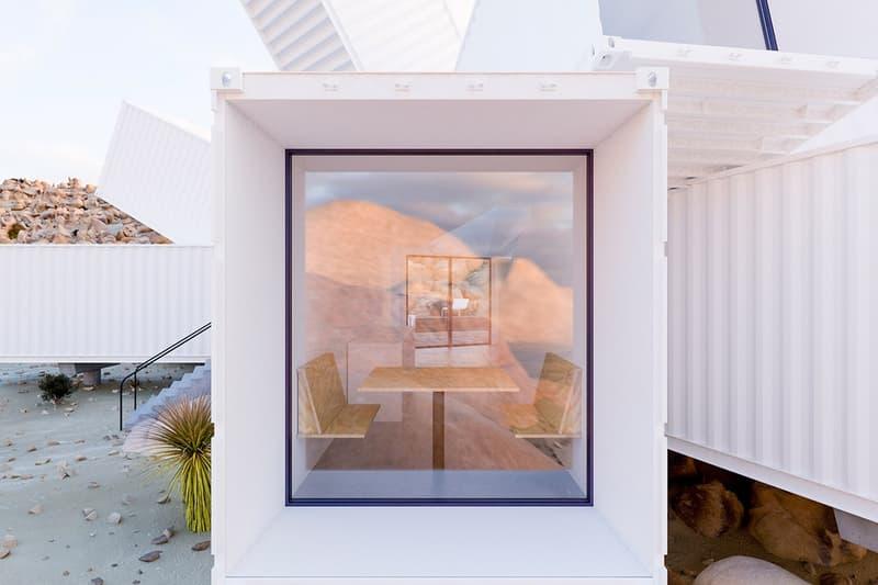 カリフォルニアの砂漠にデザインされたユニークな別荘