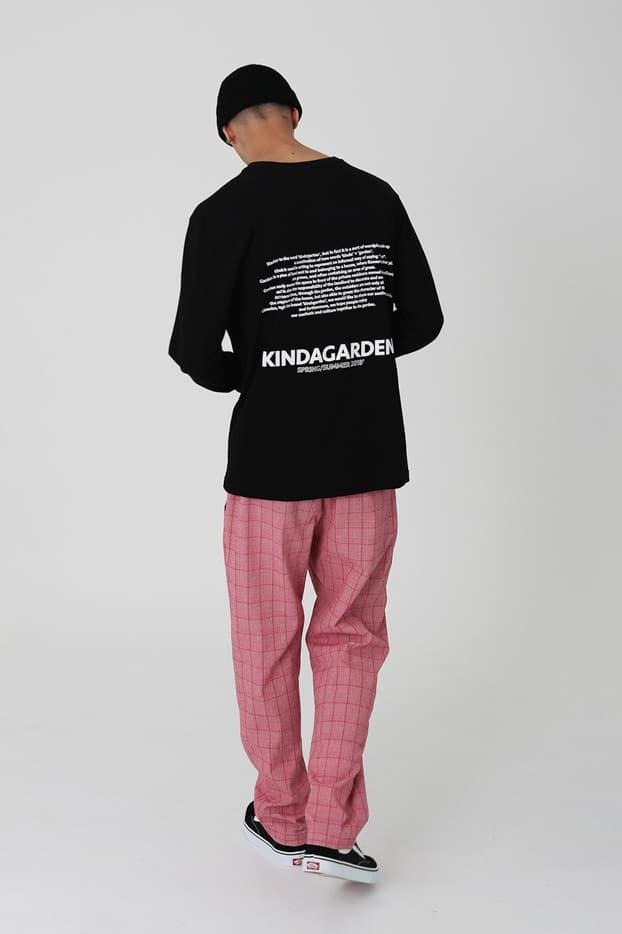 新鋭ブランドKINDAGARDEN(カインダガーデン)2018年春夏ルックブックが公開