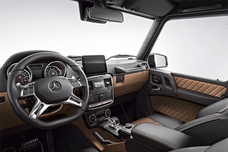 Mercedes-AMG がGクラスに最高クラスのリミテッドエディションを追加 重厚感と上品さの双方を兼ね備えた究極のオフロードカー