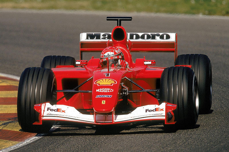 F1界 レジェンド ミハエル・シューマッハ モナコ GP  フェラーリ オークション