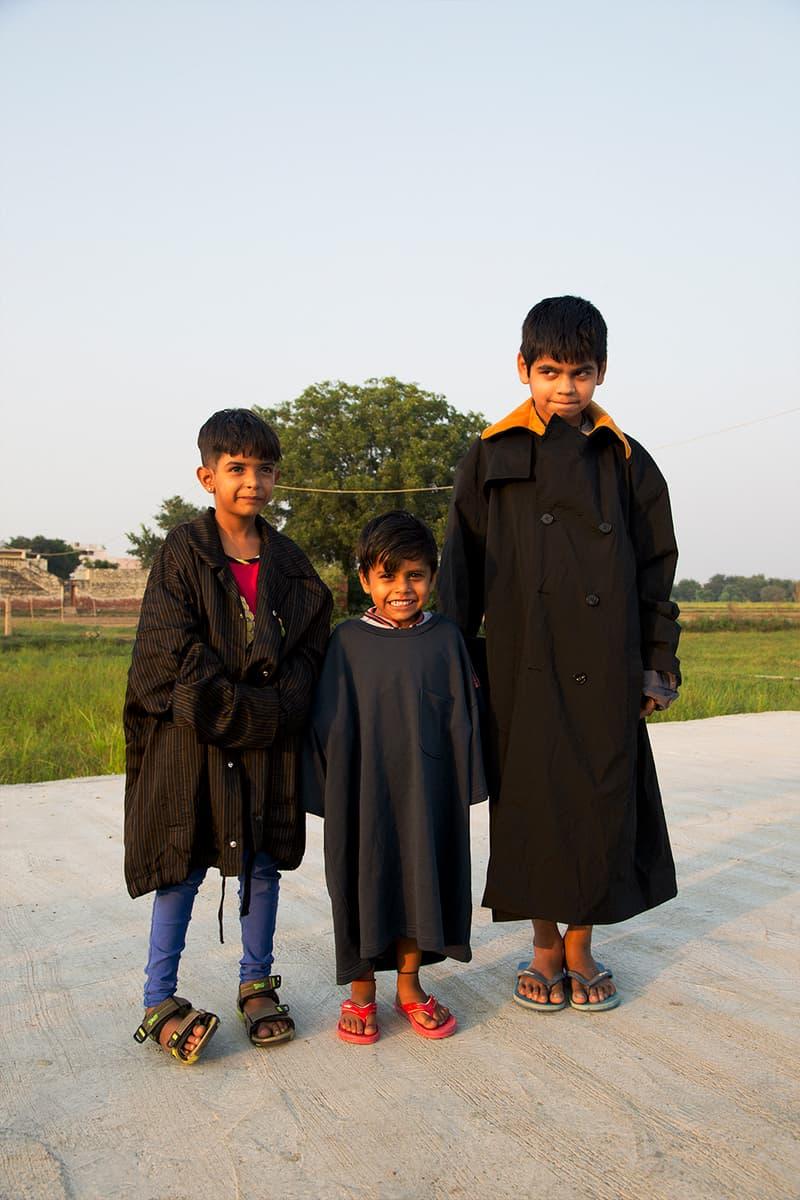 スタイルが混在するインドから着想を得た MASU の2018年春夏コレクションルックブック モデルに起用したインドの現地人たちが見せるリアルな表情にもご注目あれ