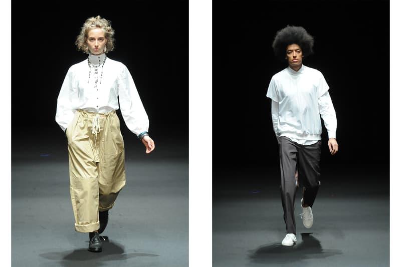 HYPEBEAST が選ぶ東京ファッションウィーク 2018年春夏ベストルック 後編 HYPEBEAST が選ぶ Amazon Fashion Week Tokyo 2018年春夏ベストルック 前編  編集部の独断と偏見で10月19日〜21日に登場した全ブランドのベストルックをピックアップ ランウェイ 東京コレクション 東コレ