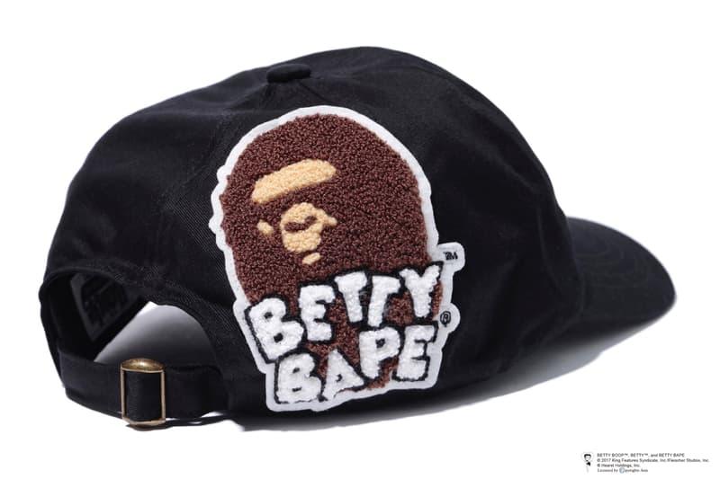 A BATHING APE® がアメリカのセクシーアニメキャラクター BETTY BOOP™ とコラボレーション