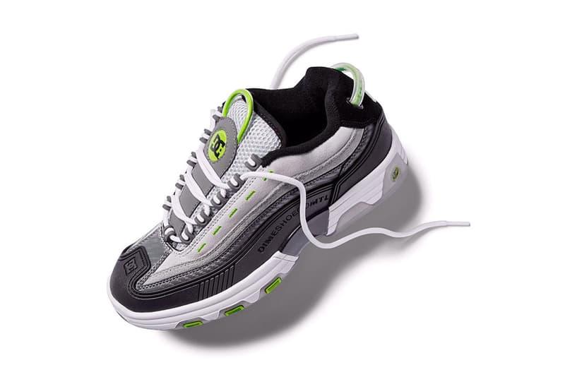 Dime  DC Shoes のタッグ 最新スケートシューズ コレクション ファーストルック チェック