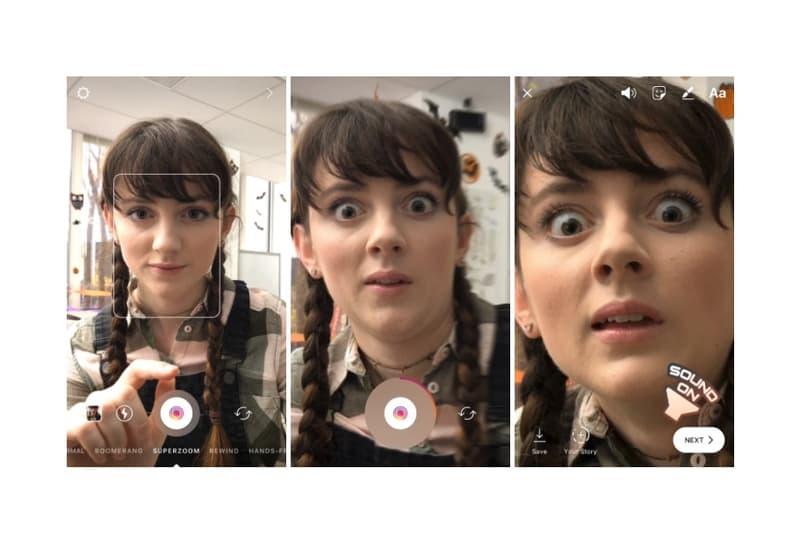 "Instagram から動画撮影がより盛り上がる新機能 ""Superzoom"" が登場 インスタ スーパーズーム ズーム 動画 ムービー 写真 撮影 加工"