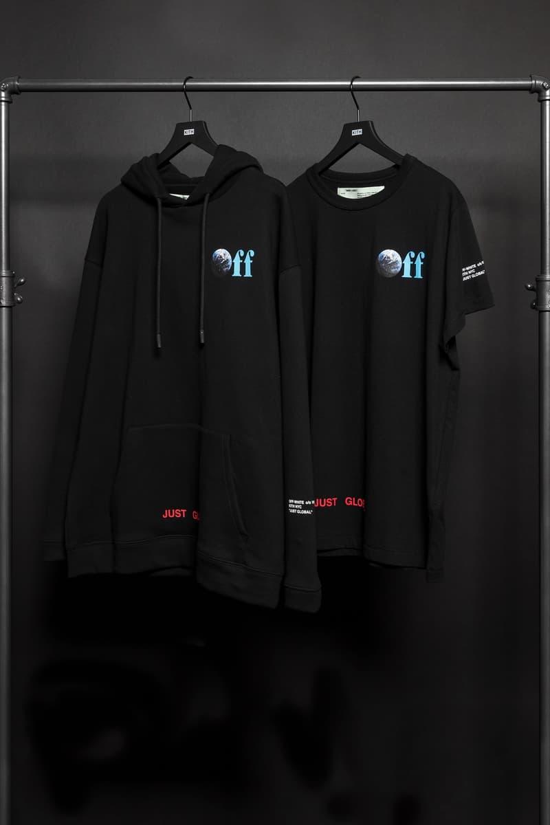 """KITH が Off-White™ をパートナーに迎えた新たなカプセルコレクション """"JUST GLOBAL"""" """"JUST GLOBAL""""……『Kith Treats Tokyo』での展開はいかに"""
