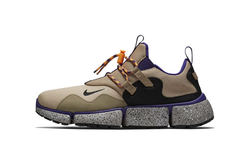 "Nike がコア層からの支持率が高い ACG の名作 Pocket Knife DM の新色をリリース 2000年初頭にシーンへと送り込まれた独特なソール構造を特徴とする逸足にオールドスクールな""Desert Moss""が仲間入り ポケット ナイフ DM スニーカー  アウトドア"