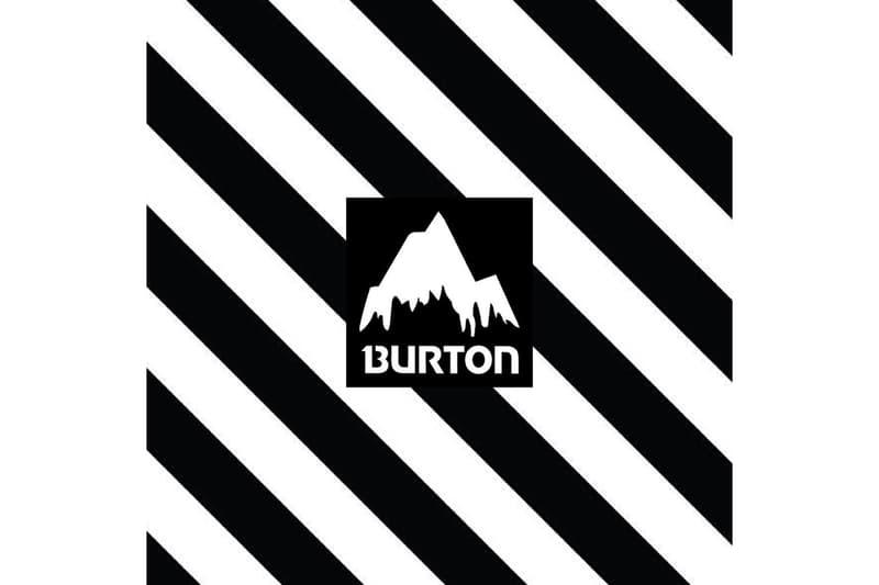 老舗スノーボードブランド Burton & Off-White™ & VOGUE のコラボレーション バートン オフホワイト ヴォーグ 2018 winter