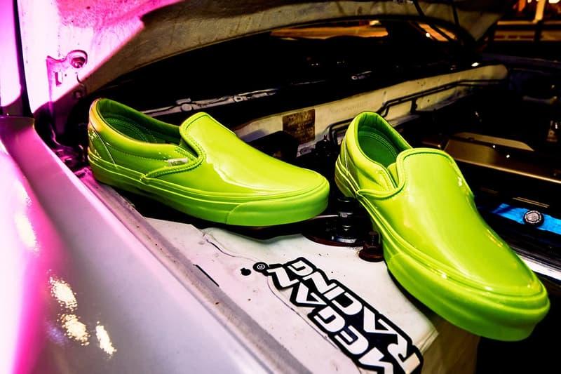 Opening Ceremony x Vans のタッグよりパテントレザーを用いたコラボ Slip-On が登場 ヴァンズ スリッポン オープニングセレモニー
