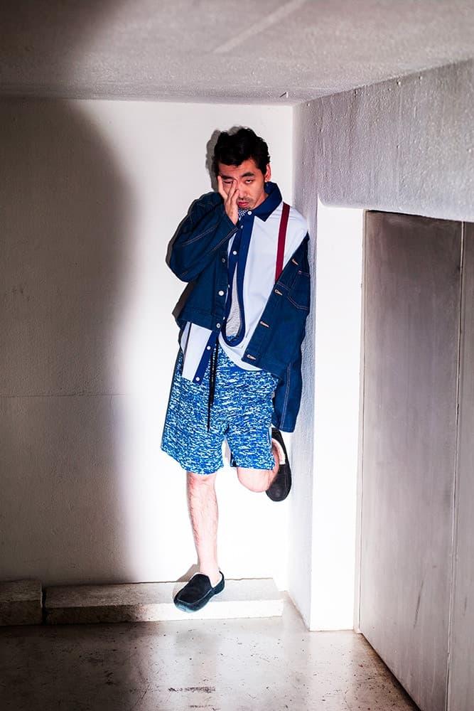 俳優 柄本時生を起用しカラフルなアイテムの数々を魅せるPHINGERIN 2018年春夏ルックブック tokio emoto フィンガリン 2018ss spring summer lookbook
