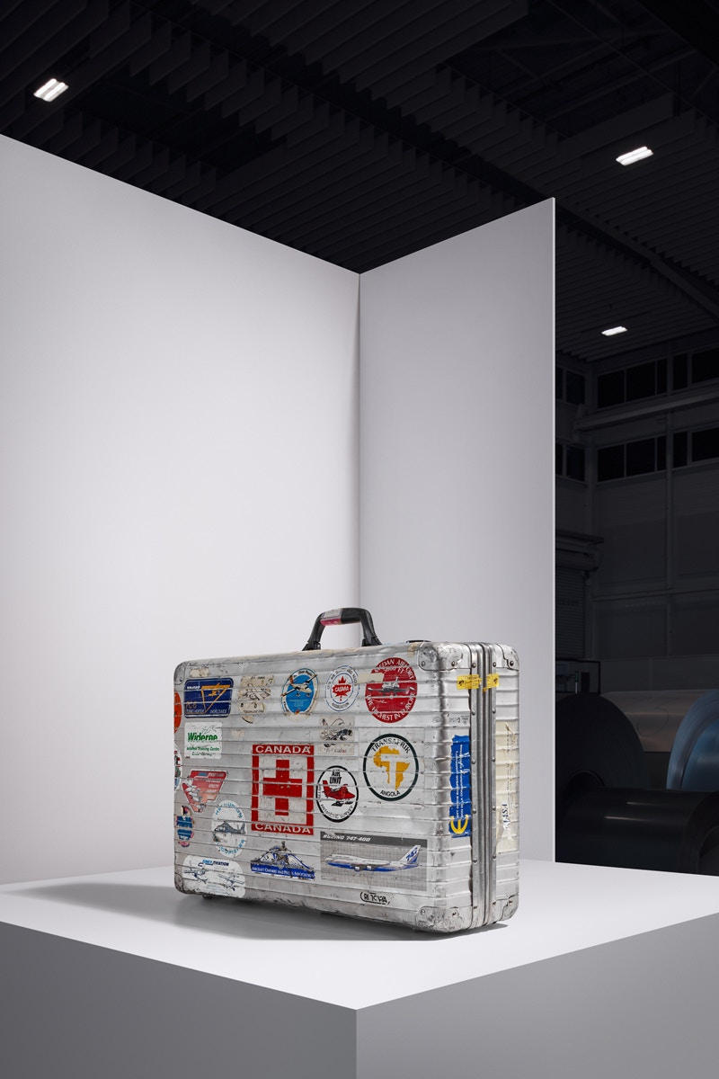 NIGO® やヴァージル・アブローなど著名セレブたちが愛用 Rimowa スーツケースを展示 リモワ スーツケース ニゴー virgil abloh