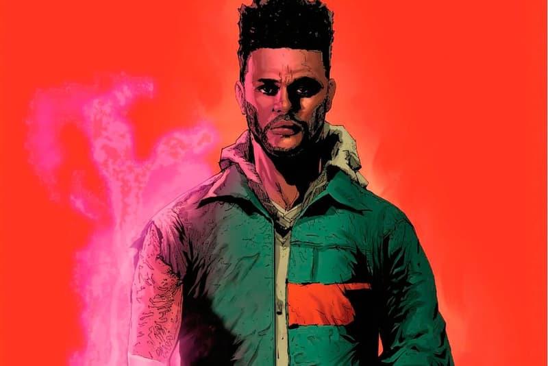 The Weeknd  Marvel 『Starboy』テーマ コミックブック 共同制作 発表 漫画